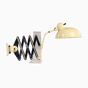 Vintage Helo Scissor Lamp by Christian Dell for Kaiser Leuchten