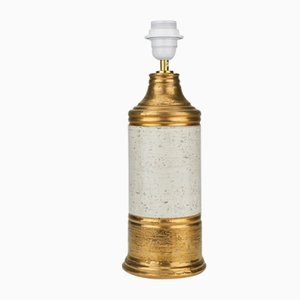 Gold Table Lamp from Bitossi, 1960s