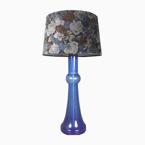 Lampada da tavolo in vetro colorato di Nanny Still per Raak, anni '50
