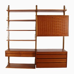 Danish Wall Unit by Poul Cadovius for Cado, 1960s