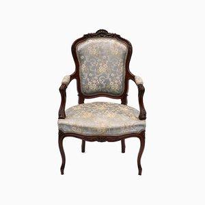 Fauteuil Style Louis XV Vintage