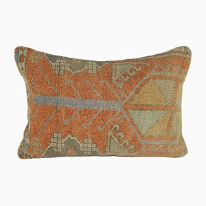 Federa Oushak intrecciata a mano di Vintage Pillow Store Contemporary