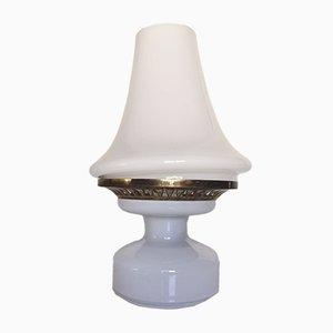 Lampada da tavolo B124 in cristallo di Hans-Agne Jakobsson, anni '60