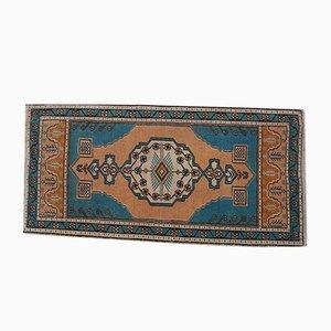 Flachgewebter türkischer Vintage Teppich