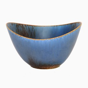 Swedish AXK Stoneware Bowl by Gunnar Nylund for Rörstrand, 1950s