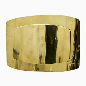 Italian Brass Sconce by Dada Industrial Design, 1970s