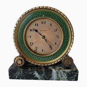 Französische Art Deco Uhr von Zenith, 1920er