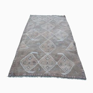 Vintage Geometric Patterned Rug