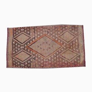Small Vintage Turkish Rug