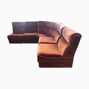 Vintage 5 Piece Modular Sofa, 1970s