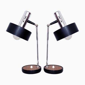 Lampe de Bureau Vintage, Italie, 1960s, Set de 2