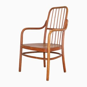 A63 F Armchair by Aldolf Schneck for Thonet, 1920s