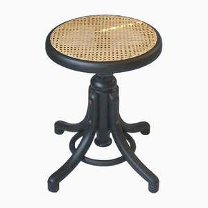 Black No. 1 Piano Stool from Thonet, 1870s