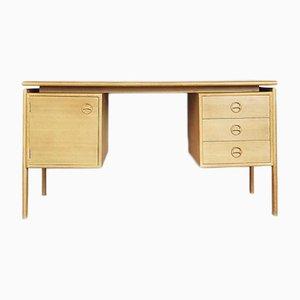 Scandinavian Teak Bilateral Vintage Desk, 1960s