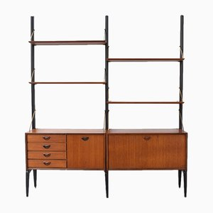 Libreria vintage modulare di Louis Van Teeffelen per WéBé