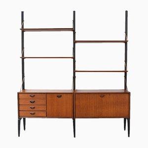 Vintage Modular Wall Unit by Louis Van Teeffelen for Webe