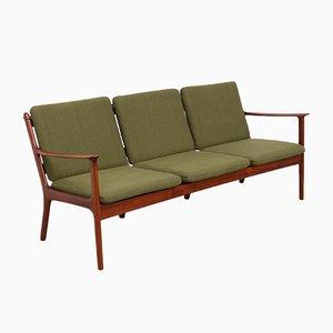 3-Sitzer Sofa von Ole Wanscher für Poul Jeppesens Møbelfabrik, 1950er