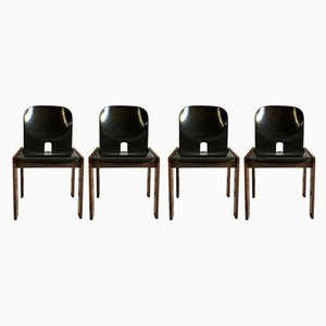 Model 121 Chairs by Tobia & Afra Scarpa for Cassina, 1965, Set of 4