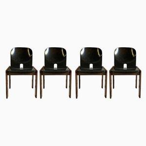 Modell 121 Stühle von Tobia & Afra Scarpa für Cassina, 1965, 4er Set