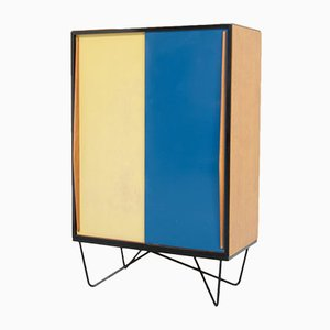 Vintage Wardrobe Cabinet by Willy Van Der Meeren for Tubax
