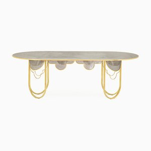 Table de Salle à Manger par Khaled El Mays pour Made in EDIT, 2019