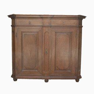 Louis XIV Oak Cabinet