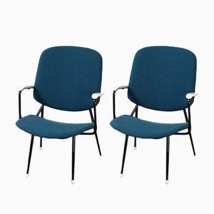 Niederländische Sessel, 1950er, 2er Set