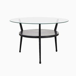 Table Basse Rotonde par Friso Kramer pour Ahrend de Cirkel, 1959