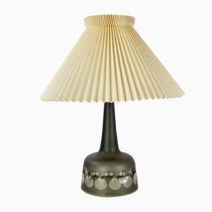 Lámpara de mesa de vidrio de Ove Sandeberg para Kosta Boda, años 60