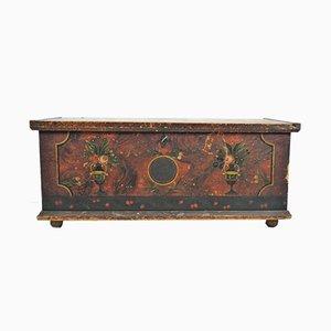 Commode à Lin Antique Peinte, 1847