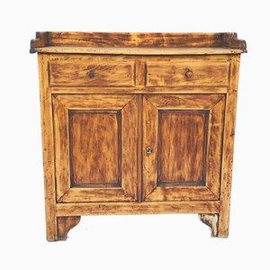 Antique Poplar Cabinet