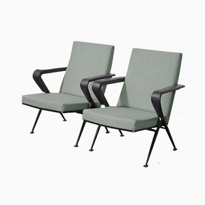 Repose Easy Chairs by Friso Kramer for Ahrend de Cirkel, 1959, Set of 2