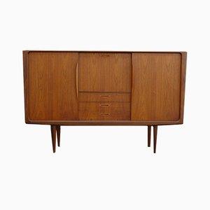 Buffet Vintage en Teck et Noyer par HW Klein pour Bramin, Danemark