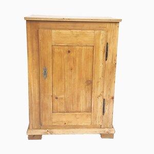 Mobiletto antico in legno di conifera