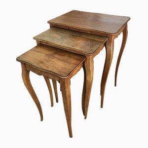 Tavolini ad incastro antichi