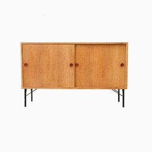 Mid-Century Oak Cabinet by Børge Mogensen for Karl Andersson & Söner, 1960s