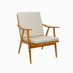 Vintage Armchair With Removable Cushion from TON, 1970s