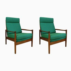 Mid-Century Armchairs from Cintique, 1960s, Set of 2