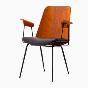 Modell Du22 Armlehnstuhl von Gastone Rinaldi für Rima, 1950er
