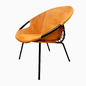 Vintage Balloon Chair by Lusch Erzeugnis for Lusch & Co