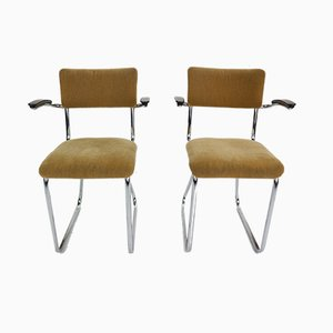 Industrial Side Chairs, 1960s, Set of 2