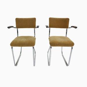 Industrielle Beistellstühle, 1960er, 2er Set