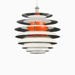 Danish Kontrast Pendant Lamp by Poul Henningsen for Louis Poulsen, 1960s