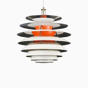 Lámpara colgante Kontrast danesa de Poul Henningsen para Louis Poulsen, años 60