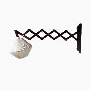 Mid-Century Scissor Wall Lamp, 1960s