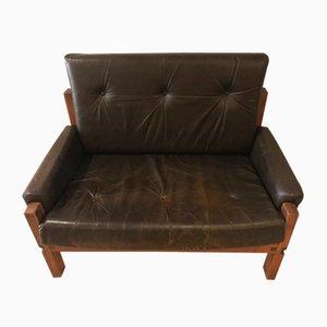 Sillón Love Seat S18Y de Pierre Chapo, años 70