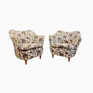 Italienische Sessel von Gio Ponti für Casa e Giardino, 1940er, 2er Set