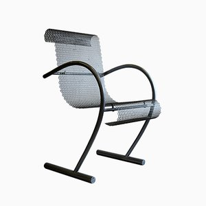 Modernist French Sing Sing Sing Steel Armchair by Shiro Kuramata for XO, 1990s