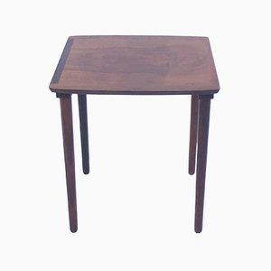 Petite Table d'Appoint Vintage en Palissandre de Möbelintarsia, Danemark
