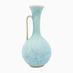 Light Blue Ceramic Vase by Gunnar Nylund for Rörstrand, 1950s